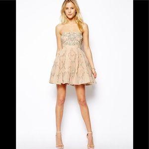 Needle & Thread Ornate Prom Dress
